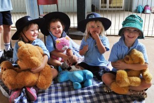 BKK at teddy bears picnis at Junior School